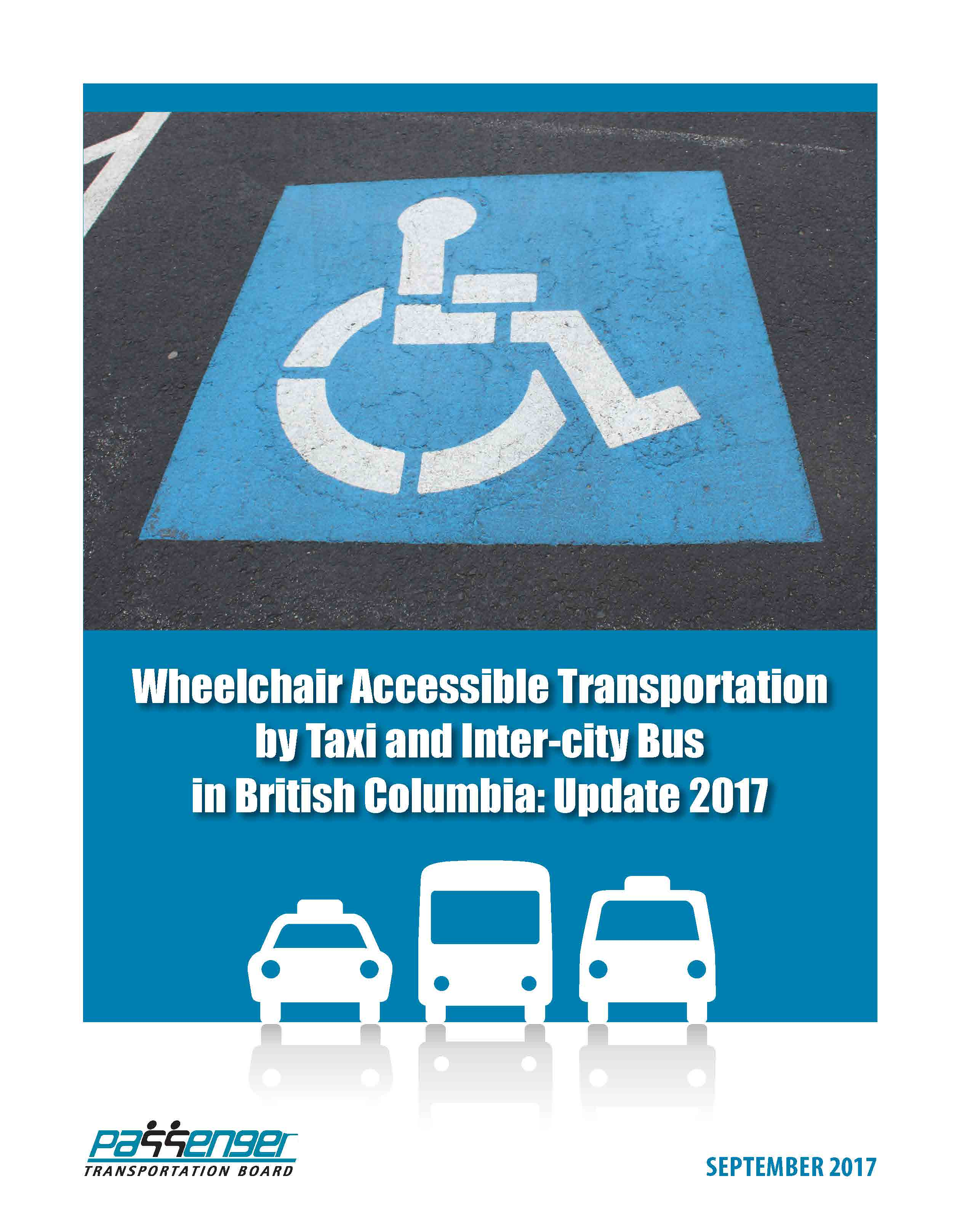Wheelchair Accessible Transportation by Taxi and Inter-city Bus in British Columbia: Update 2017
